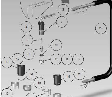 Bico de Corte Plasma 1,1mm LPH82-120 - 090244-2
